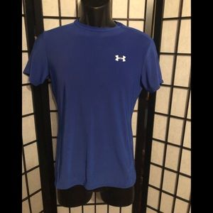 Under Armour Youth XL fitted heat wear t-shirt